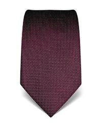 dunkellila bedruckte Krawatte von Vincenzo Boretti