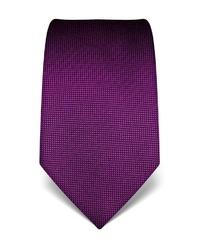 dunkellila Krawatte von Vincenzo Boretti