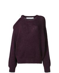 dunkellila Oversize Pullover von IRO