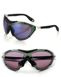 dunkellila Sonnenbrille