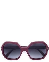 dunkellila Sonnenbrille von Oliver Goldsmith