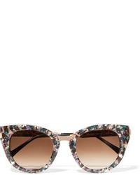 dunkellila Sonnenbrille von Thierry Lasry