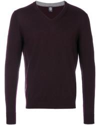 dunkellila Sweatshirt von Eleventy