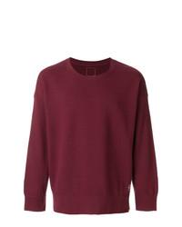 dunkellila Sweatshirt von VISVIM