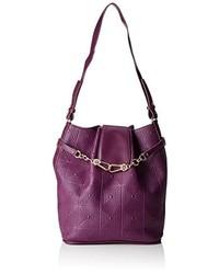 dunkellila Taschen von Versace