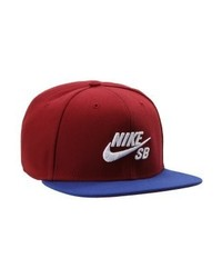 dunkelrote Baseballkappe von Nike