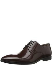 dunkelrote Derby Schuhe von Karl Lagerfeld