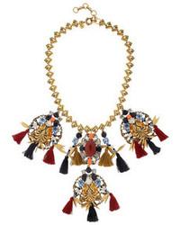 dunkelrote Halskette von J.Crew