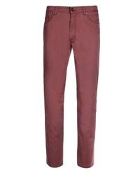 dunkelrote Jeans von Eagle No. 7