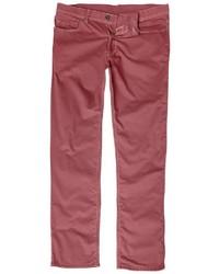 dunkelrote Jeans von JP1880