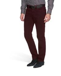 dunkelrote Jeans von MEYER