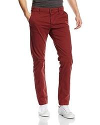 dunkelrote Jeans von ONLY & SONS