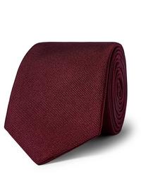 dunkelrote Krawatte von Hugo Boss