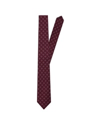 dunkelrote Krawatte von Jacques Britt