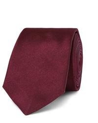 dunkelrote Krawatte von Paul Smith