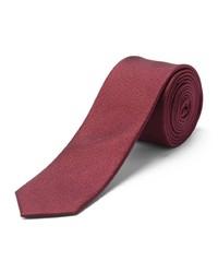 dunkelrote Krawatte von Selected Homme