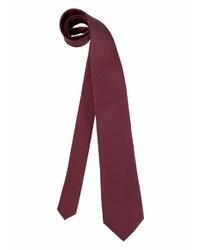 dunkelrote Krawatte von STUDIO COLETTI