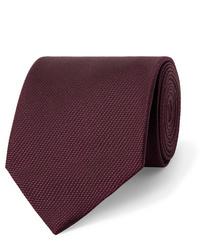 dunkelrote Krawatte von Tom Ford