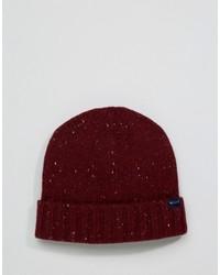 dunkelrote Mütze von Jack Wills