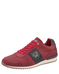 dunkelrote niedrige Sneakers von Pantofola D'oro