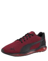 dunkelrote niedrige Sneakers von Puma