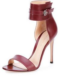 Dunkelrote sandaletten original 1636215