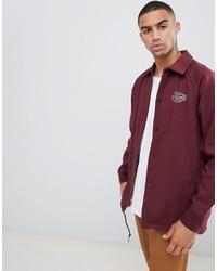 dunkelrote Shirtjacke von Vans