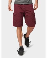 dunkelrote Shorts von Tom Tailor