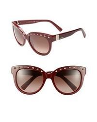 dunkelrote Sonnenbrille