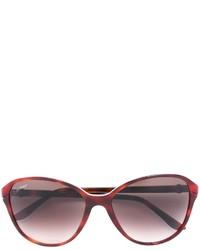 dunkelrote Sonnenbrille von Cartier