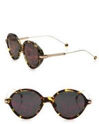Dunkelrote Sonnenbrille von Christian Dior