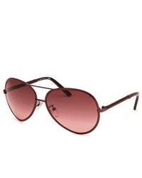 Dunkelrote Sonnenbrille von Fendi