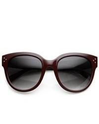 Dunkelrote Sonnenbrille von ZeroUV