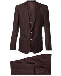 dunkelroter Anzug von Dolce & Gabbana
