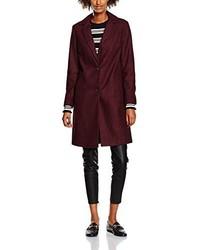 dunkelroter Mantel von New Look