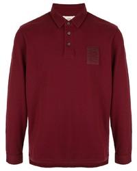 dunkelroter Polo Pullover von Kent & Curwen