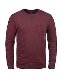 dunkelroter Pullover mit einem Rundhalsausschnitt von BLEND
