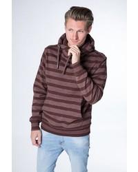 dunkelroter Pullover mit einer weiten Rollkragen von Alife and Kickin