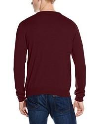 dunkelroter Pullover von Gant