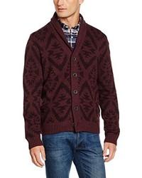 dunkelroter Pullover von LERROS