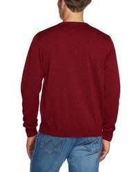dunkelroter Pullover von Maerz