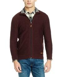 dunkelroter Pullover von s.Oliver