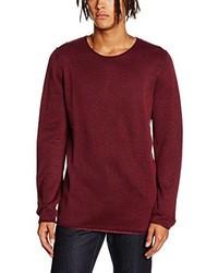 dunkelroter Pullover von Shine Original