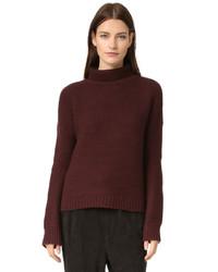dunkelroter Pullover von Vince