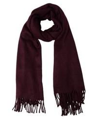 dunkelroter Schal von Even&Odd
