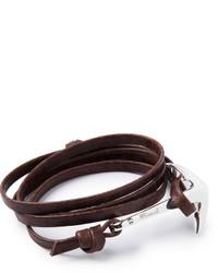 Dunkelrotes Armband