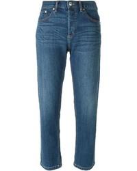 dunkeltürkise Boyfriend Jeans von Marc by Marc Jacobs