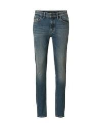 dunkeltürkise enge Jeans von Marc O'Polo