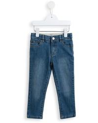 dunkeltürkise Jeans von Stella McCartney