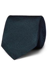 dunkeltürkise Krawatte von Kingsman